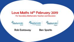 Love Maths Conference, Oxford